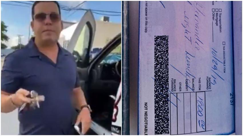 """""""El dinero se le pagó ese mismo día cuando proporcionó una identificación válida"""" asegura familia de empresario cubano acusado de no pagar a indocumentado"""