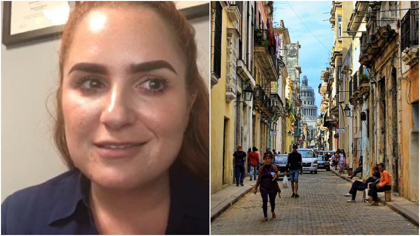 Cubana asegura que los cubanos en la isla no quieren tumbar la dictadura porque le temen al trabajo fuerte para reconstruir Cuba
