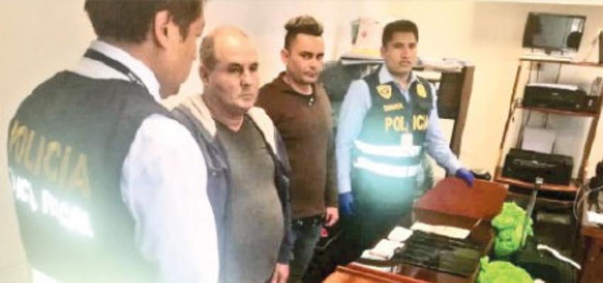 Dos cubanos arrestados en el aeropuerto de Lima, Perú, por llevar celulares robados en su equipaje