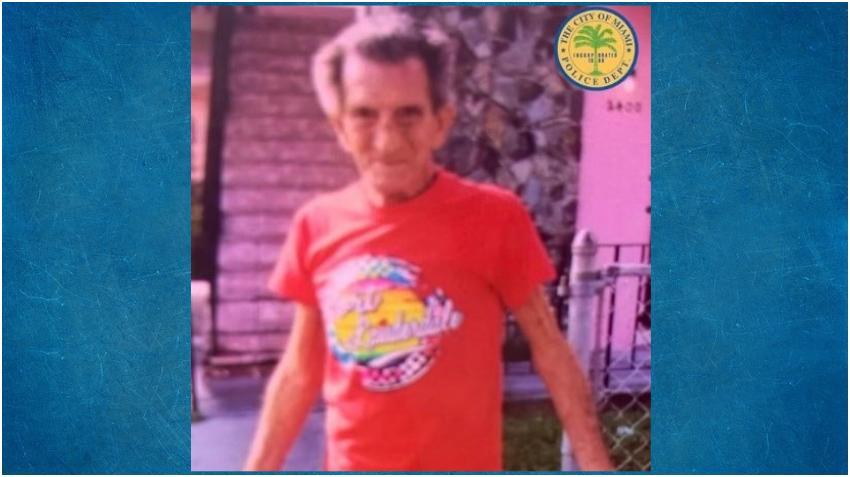 Buscan a un anciano desaparecido en Miami