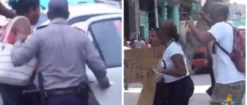 Arrestan a manifestantes en las calles de La Habana tras pedir libertad para Cuba y para el líder opositor José Daniel Ferrer
