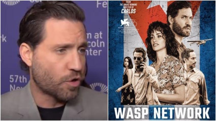 """Edgar Ramírez, el actor venezolano, protagonista de """"Red Avispa"""" asegura que entiende el dolor del exilio cubano pero pide que vean la película"""