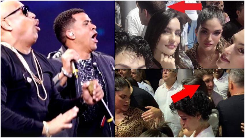 Salen a la luz imágenes que demuestran que miembros de la alta jerarquía del gobierno de Cuba estuvieron presente en el concierto de Gente de Zona en La Habana