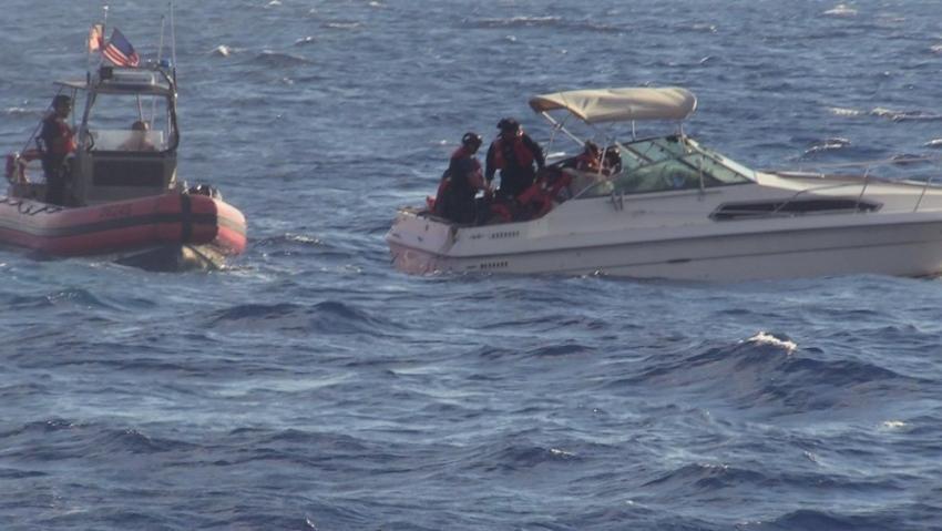 La Guardia Costera de Estados Unidos intercepta a un hombre que intentaba contrabandear migrantes cerca de Miami