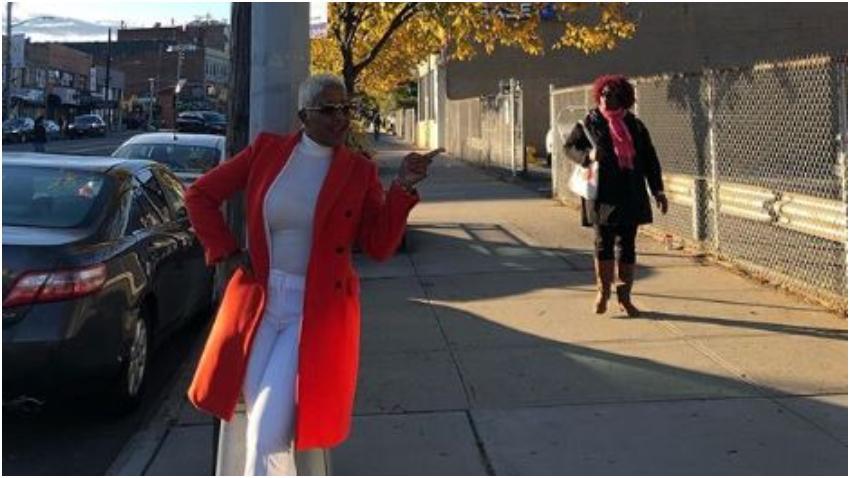 Haila María Mompié ya está en Estados Unidos y se encuentra en Nueva York