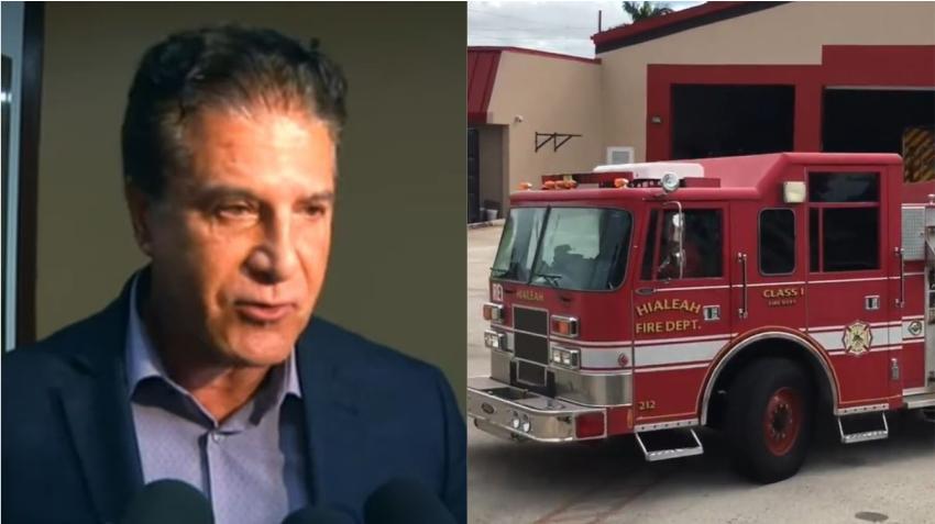 Alcalde de Hialeah y los bomberos de la ciudad no llegan a un acuerdo
