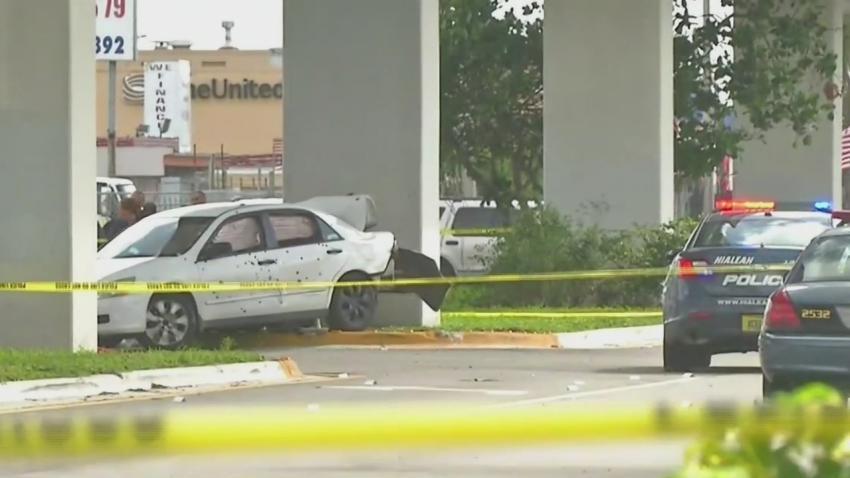 Familia demanda por 10 millones de dólares a la policía de Hialeah por una persecución policial que terminó con 128 tiros contra un auto