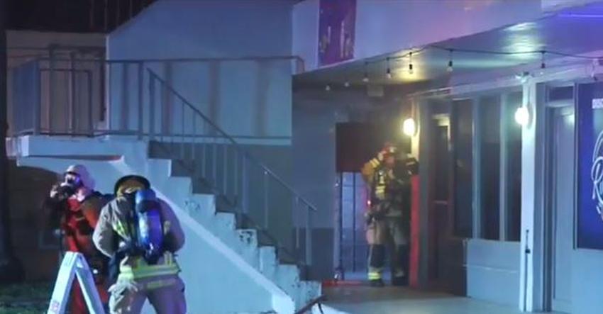 Investigan posible incendio premeditado en un club nocturno en Miami