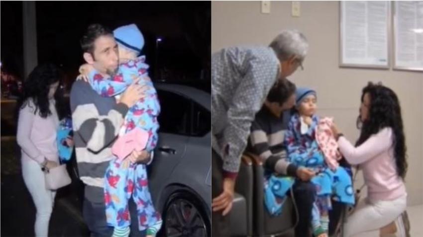 Niño cubano de 6 años con un tumor cerebral se someterá hoy a su primera intervención quirúrgica en Miami