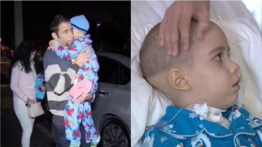 Jhan Lucas, niño cubano de 6 años con tumor cerebral, sale de su primera intervención quirúrgica exitosamente