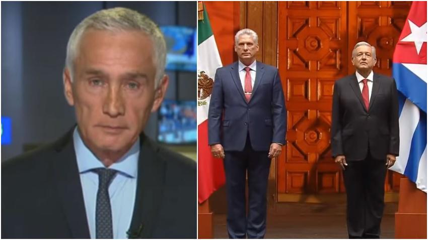 """Jorge Ramos: """"¿Por qué el gobierno de México está apoyando a la dictadura cubana?"""""""