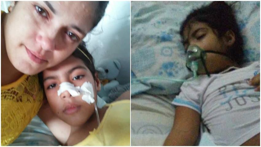 Madre cubana desesperada porque los médicos en Cuba no encuentran que enfermedad tiene su hija