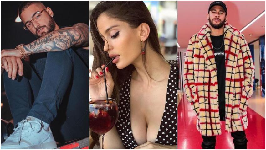 Maluma se separa de la modelo de origen cubano Natalia Barulich en medio de rumores de infidelidad de la joven con Neymar