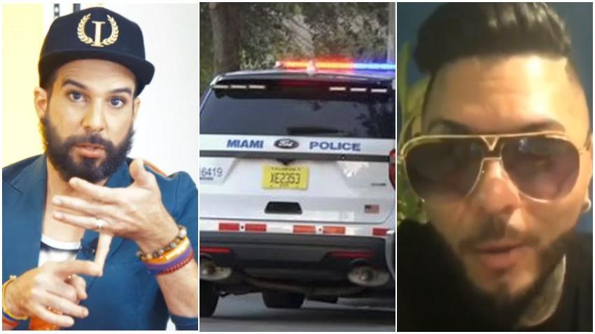 Otaola pone denuncia en la policía de Miami contra El Chacal y su representante por las amenazas contra él