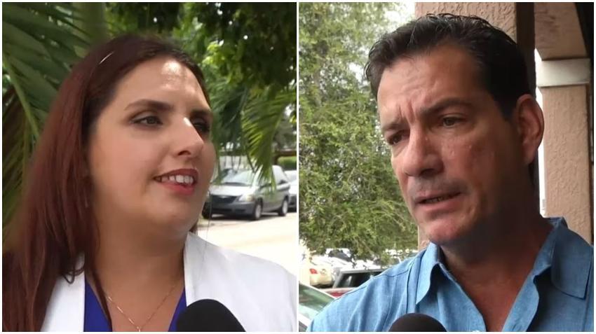 Candidata cubana a concejal de Hialeah Angélica Pacheco demanda a su contrincante Luis González por las críticas  a su esposo usando una camiseta del Che Guevara