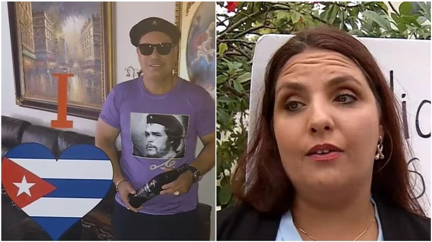 Aspirante a concejal de Hialeah asegura que no es comunista luego que salieran a la luz imágenes de su esposo con una boina y pullover del Che