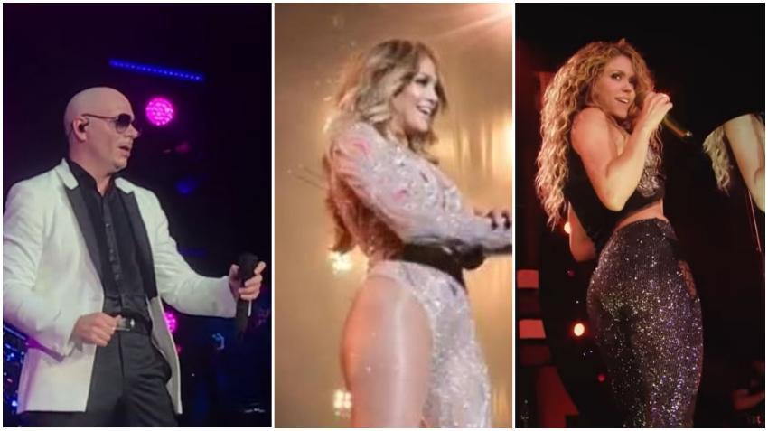 Pitbull en conversaciones con J.Lo y Shakira para formar parte del evento del Super Bowl; según informes