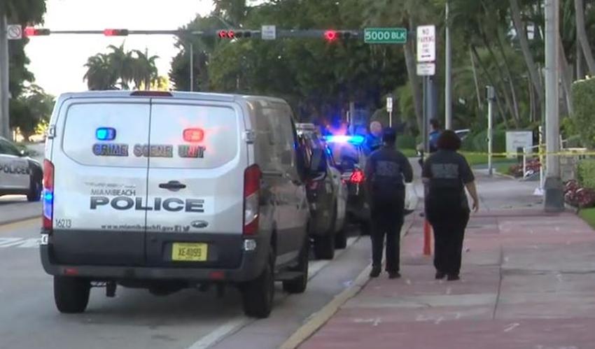 Arrestan a sospechoso de atacar a un policía en Miami Beach