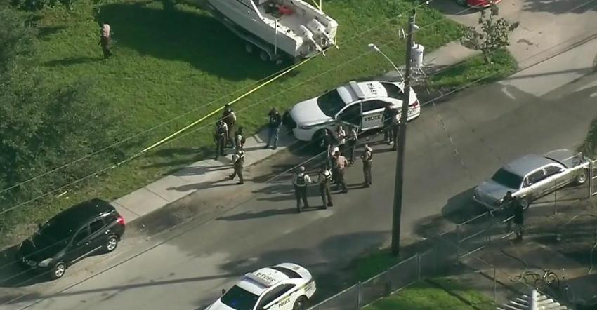 Balearon a un hombre al noroeste de Miami-Dade, la policía buscaba a un tirador en la escena