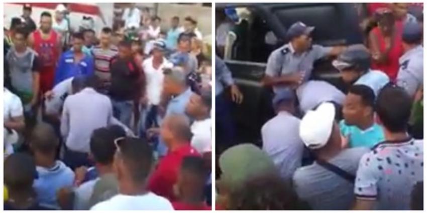 Violencia policial en Contramaestre, al oriente de Cuba