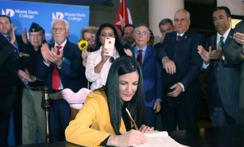 Opositores cubanos en Miami se reúnen para ratificar el Acuerdo por la Democracia en Cuba