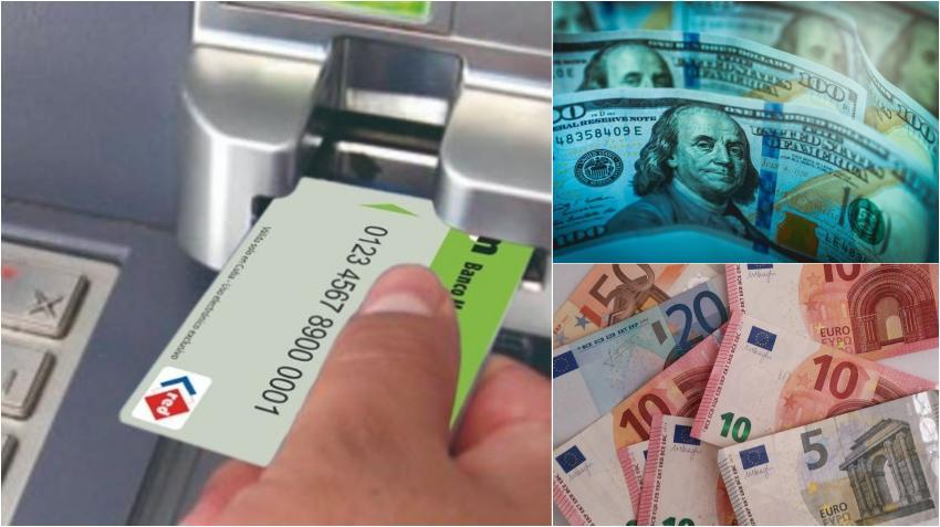 Comienza este lunes en Cuba la habilitación de tarjetas magnéticas en monedas libremente convertibles