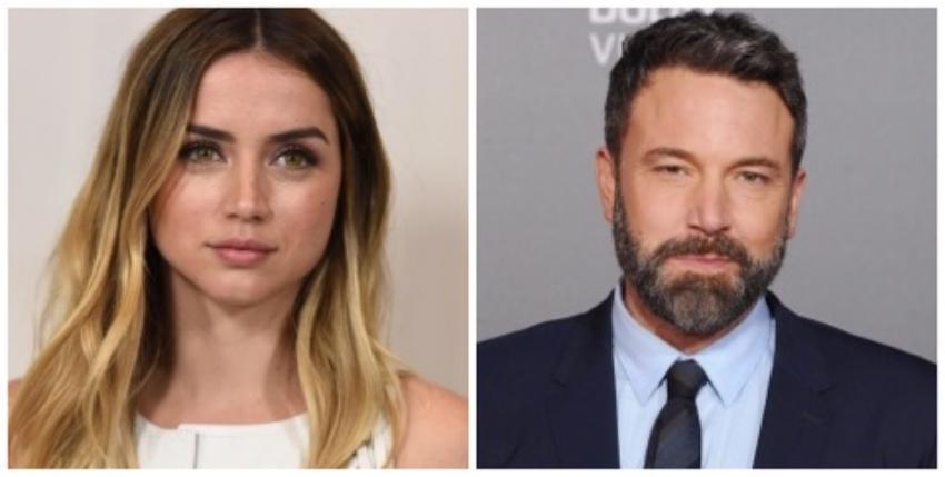 """""""Muy cercanos en el set"""" la actriz cubana Ana de Armas y Ben Affleck, medios estadounidenses sugieren un posible romance"""