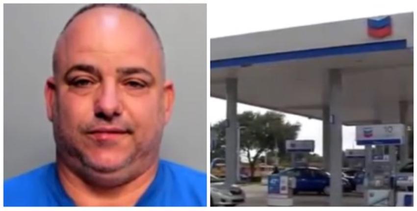 Arrestado un cubano en una gasolinera de Miami, mientras colocaba dispositivo para robar información de tarjetas