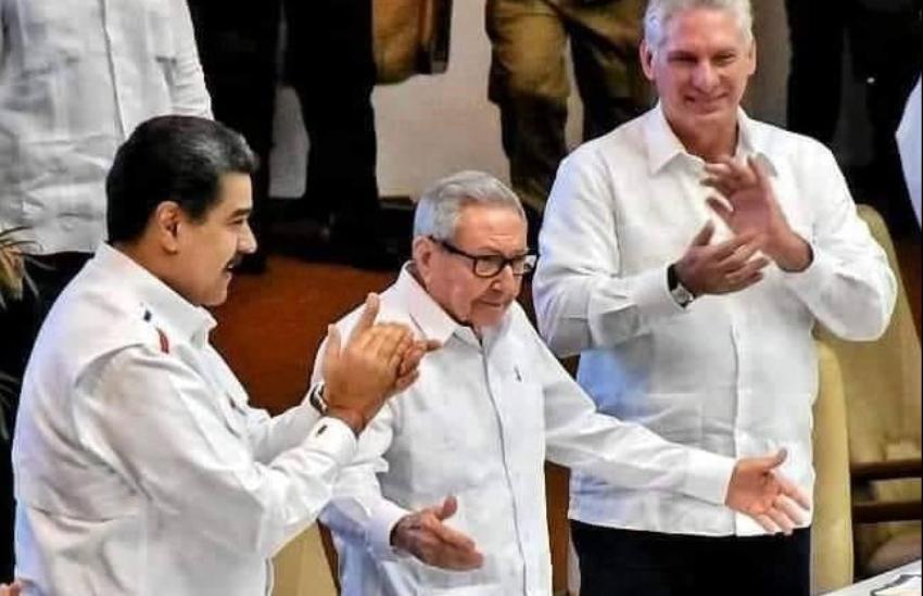 Desde La Habana Maduro y Díaz-Canel celebran auge de la izquierda en la región, y llaman a aprovechar las circunstancias