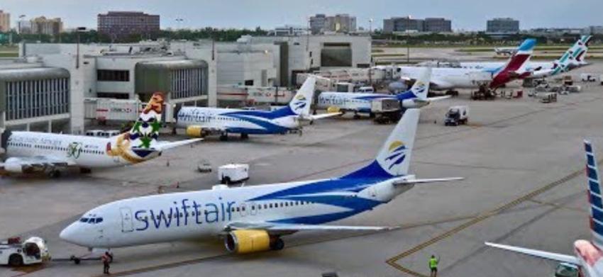 Otro vuelo de Swift Air con destino a Santa Clara aterriza de emergencia en el Aeropuerto Internacional de Miami