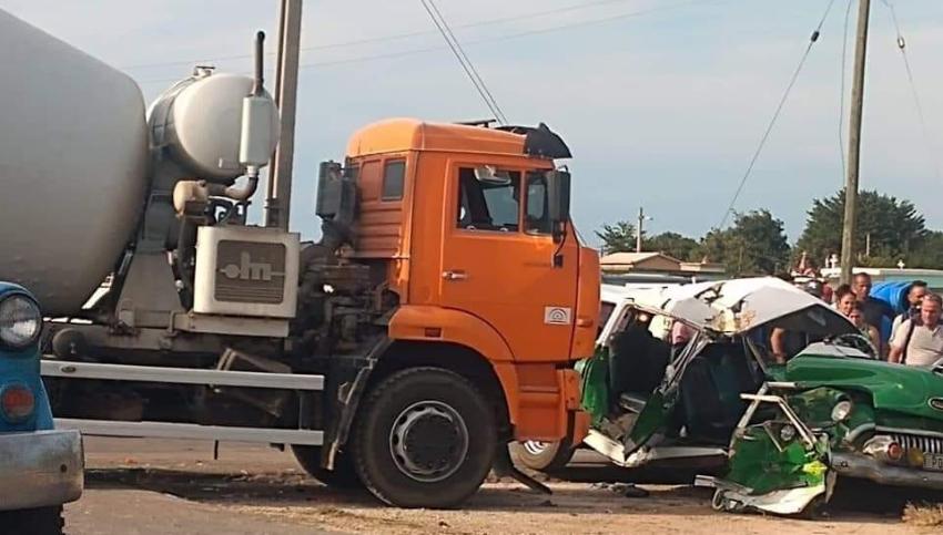 Nuevo accidente de tránsito en Cárdenas deja seis lesionados