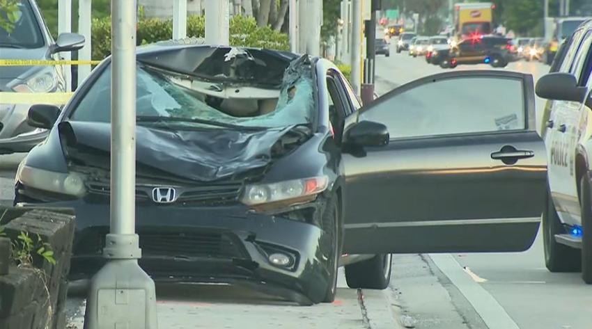 Un hombre muere atropellado por un automóvil en el noroeste de Miami