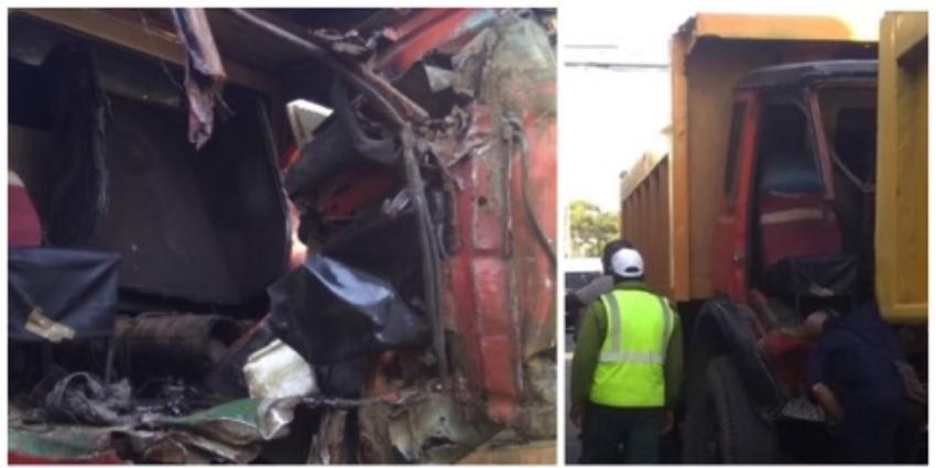 Varios lesionados en accidente de tránsito entre un camión y un ómnibus en Santiago de las Vegas