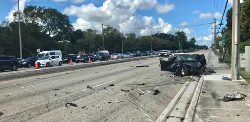Un accidente en el suroeste de Miami deja un muerto y provoca el cierre de Kendall Drive