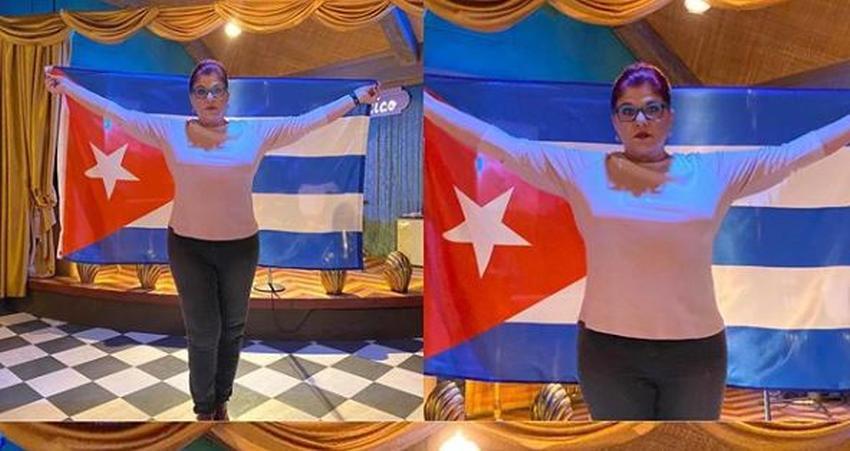 """Cubanos se vuelcan en apoyo a Susana Pérez: """"Te amamos y admiramos, no importa lo que digan eres una guerrera"""""""