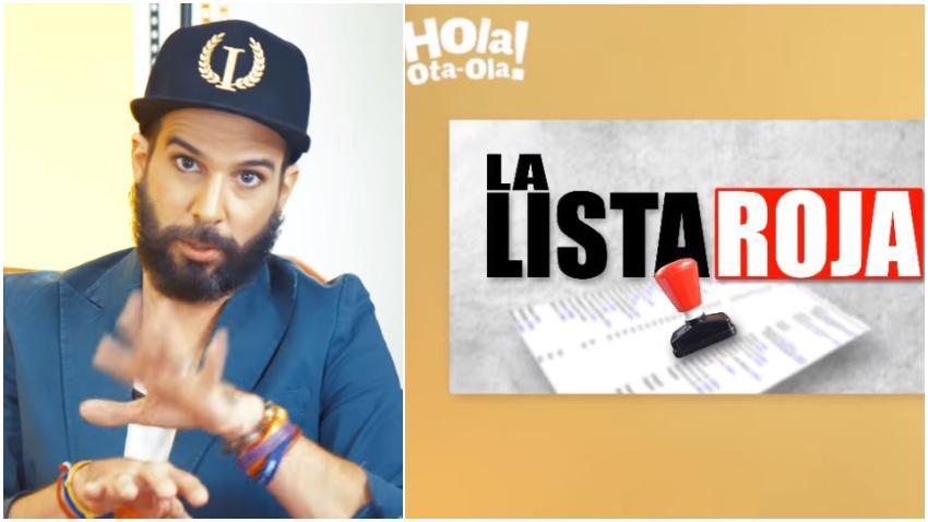 """Presentador cubano Alexander Otaola propone crear una """"Lista Roja"""" para incluir aquellos artistas y empresarios que cooperan con la dictadura en Cuba y buscan visa y Green Card en Estados Unidos"""