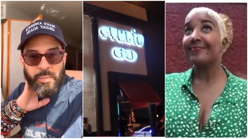 Presentador cubano Alexander Otaola llama a mantener la protesta frente a Studio 60 el día 14