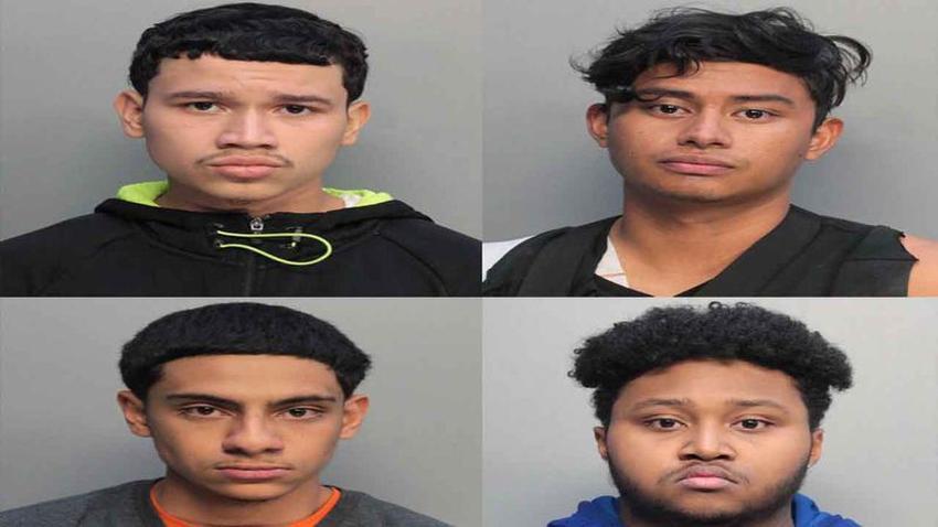 Arrestan a cuatro adolescentes hispanos en Miami acusados de robo en el vecindario de Westchester