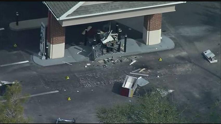 FBI investiga la explosión del ATM de un banco en Florida