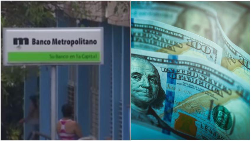 Cubanos en Cuba pasan trabajo para sacar dinero de sus cuentas en dólares en la isla