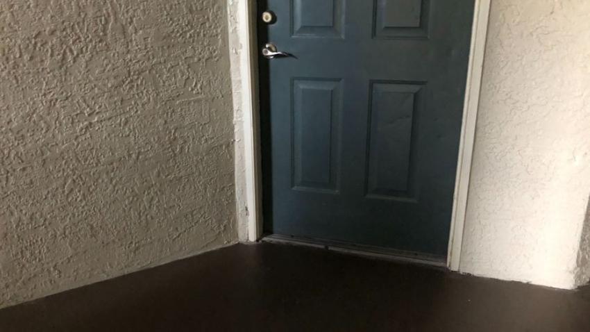 Dejan a un recién nacido dentro de una caja de zapatos en la puerta de una vivienda en la Florida