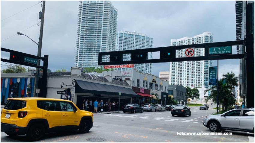 Las bajas temperaturas en Miami se mantendrán durante el lunes