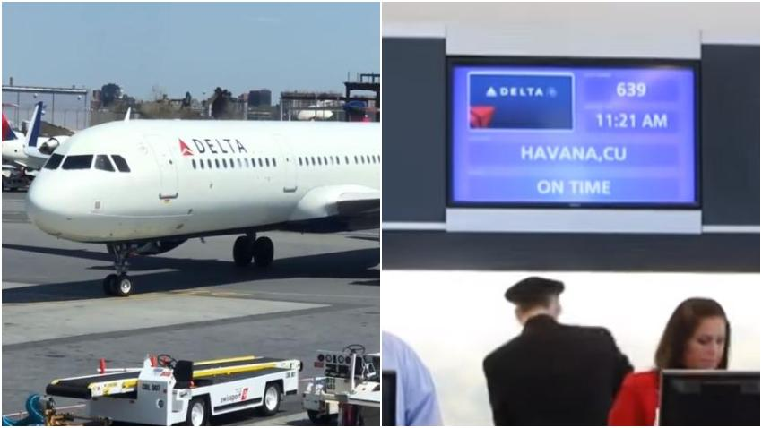Aerolínea Delta pone los vuelos de Miami a La Habana en la última semana de diciembre a más de 1000 dólares por un pasaje de ida y vuelta