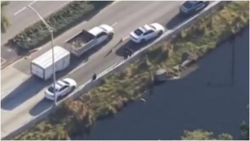 Encuentran el cadáver de un hombre flotando en un canal en Hialeah