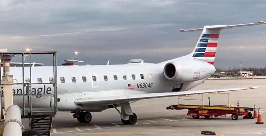 Avión de Envoy Air realiza aterrizaje de emergencia en el Aeropuerto de Miami