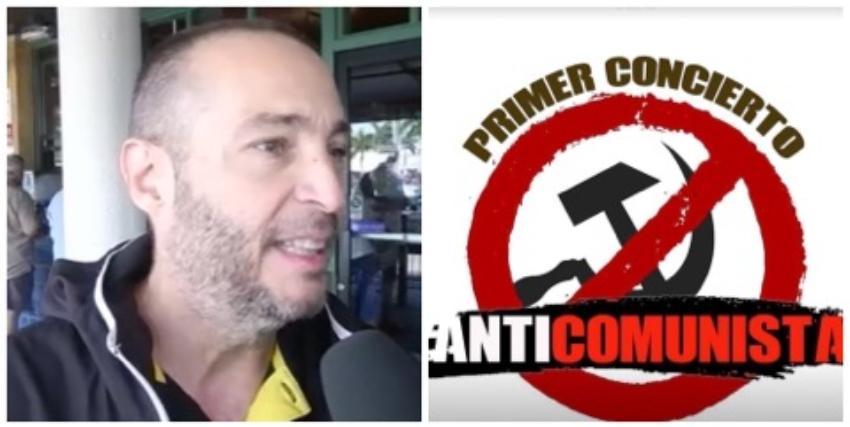Latinos en el sur de la Florida apoyan el Primer Concierto Anticomunista en EEUU, que tendrá lugar en Miami en 2020