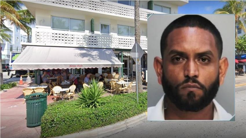 Mesero de un restaurante en Miami Beach es arrestado por robar tarjetas de crédito de clientes