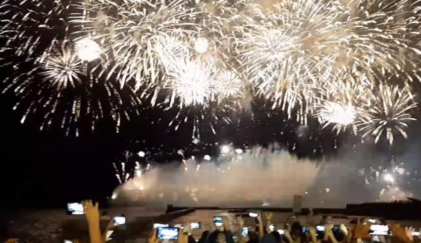 Así fueron los fuegos artificiales por los 500 años de La Habana