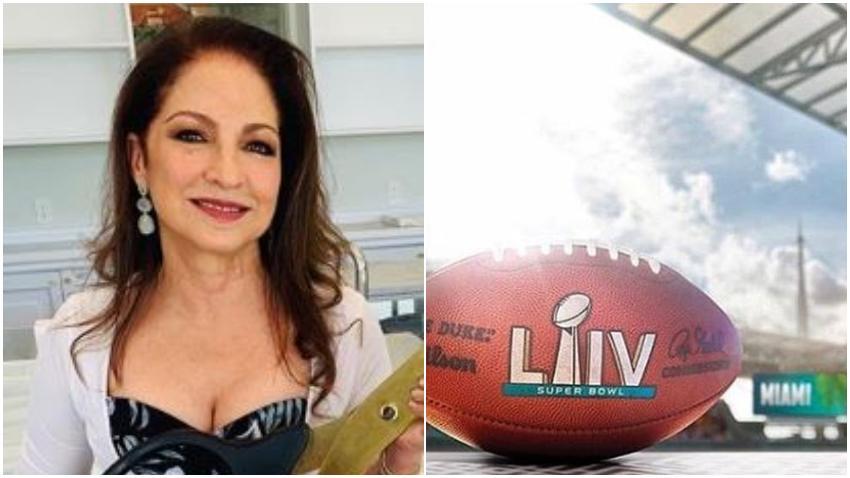 Gloria Estefan rechaza oferta para participar en el medio tiempo del Super Bowl en Miami