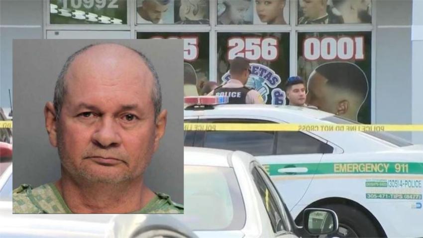 Arrestan a guardia de seguridad que accidentalmente descargó un arma de fuego y mató a una mujer en una plaza comercial en Miami